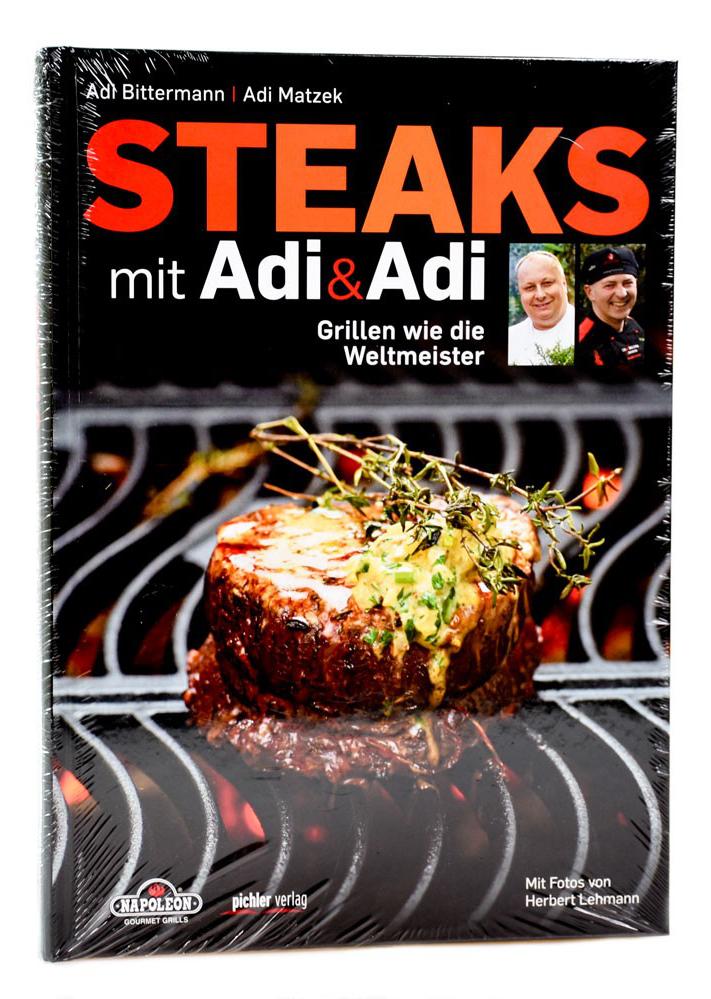 Adi Matzek´s Grill-Bücher