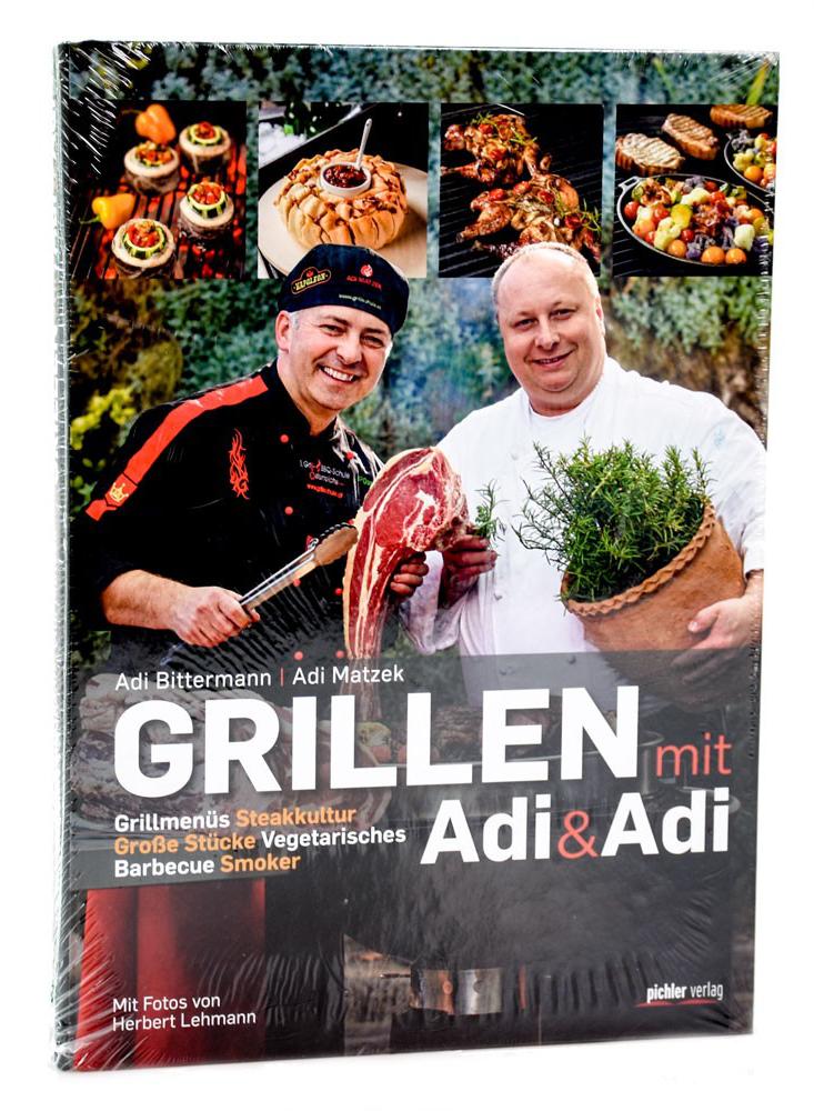 Adi Matzek´s Grill-Bücher mit persönlicher Signatur!