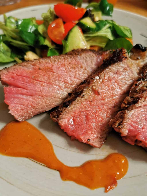 8. Tag T-Bone Steak grillen Corona Tagebuch Bild 4