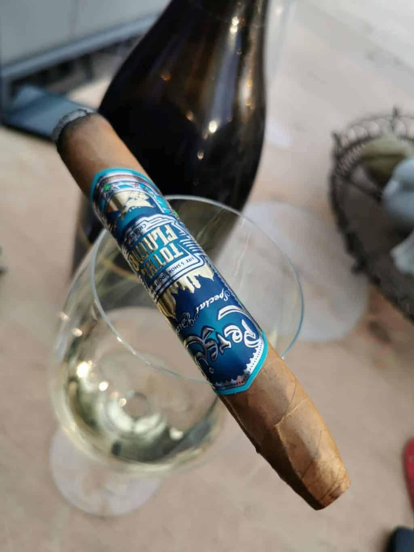 9. Tag Zigarren und Wein Corona Tagebuch Bild 1
