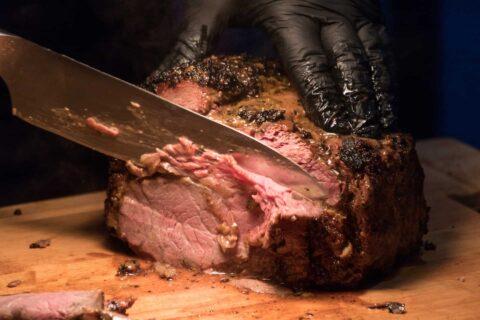 Großes Stück Raost Beef