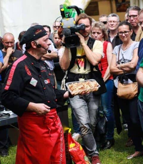 Grillschule Adi Matzek Grillshow Kamerateam