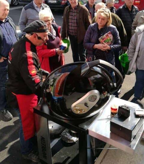 Grillschule Adi Matzek Napolen Grill Tour