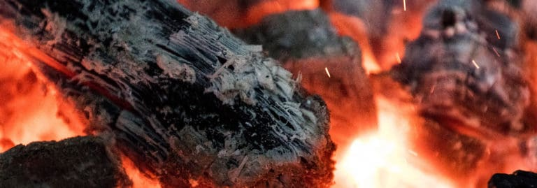 Holzkohle Feuer Glut Grillen