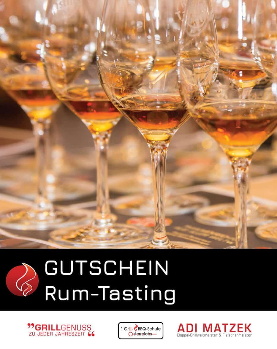 Rum Tasting Gutschein