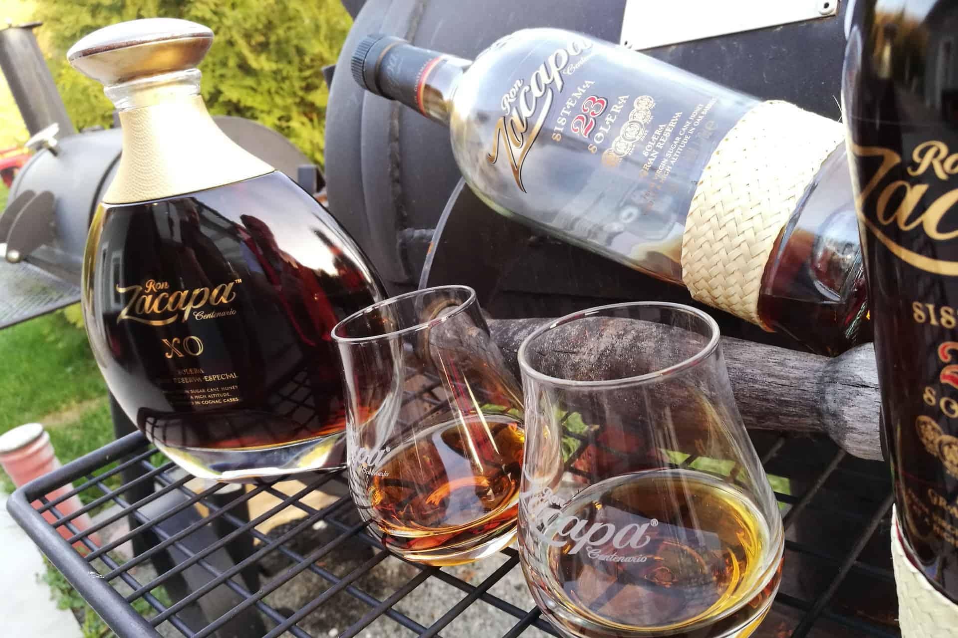 Adi Matzek Grillschule Rum Tasting