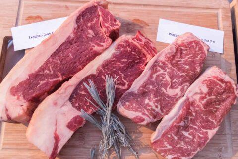 Adi Matzek Grillschule Steak Tasting Steaks Beiried