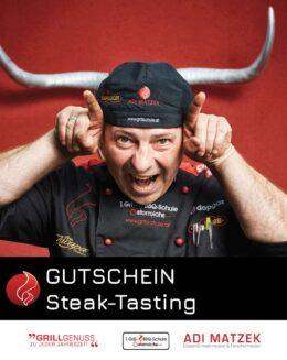 Steak Tasting Gutschein