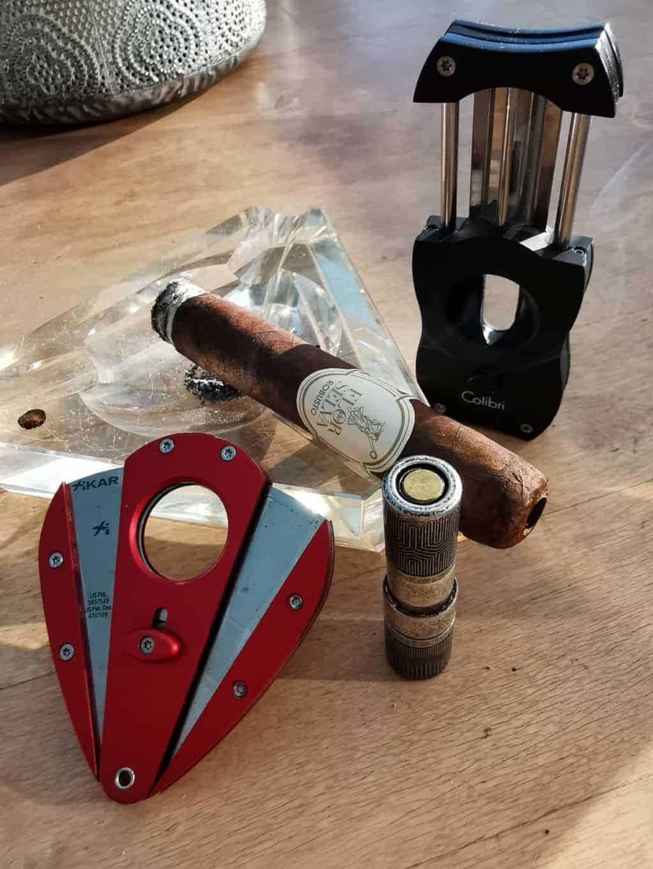 32. Tag Zigarre öffnen Corona Tagebuch Bild 1