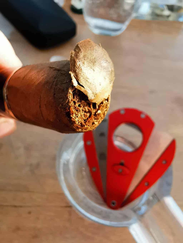 32. Tag Zigarre öffnen Corona Tagebuch Bild 2