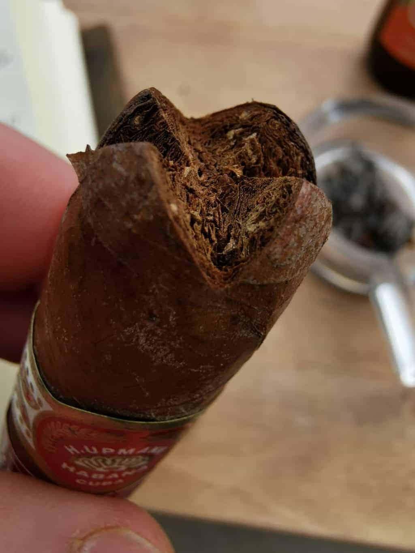 32. Tag Zigarre öffnen Corona Tagebuch Bild 9