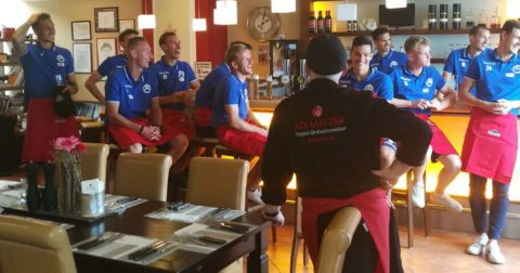 Teambuilding SV Horn mit Adi Matzek