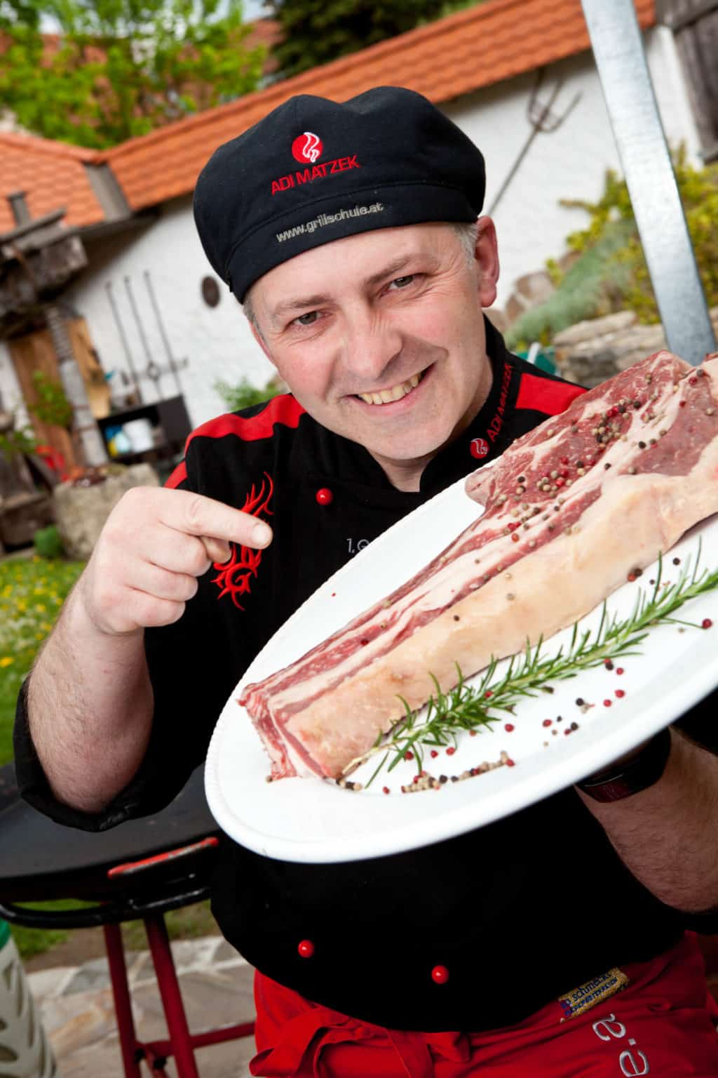 Adi Matzek Thomohawk Steak